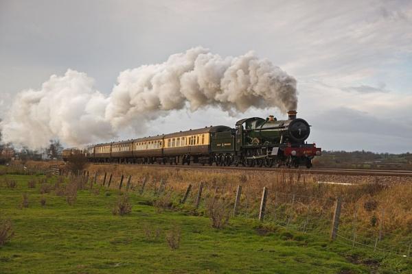 Full steam ahead by Captainkez