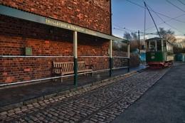 Trolleybus & tram stop