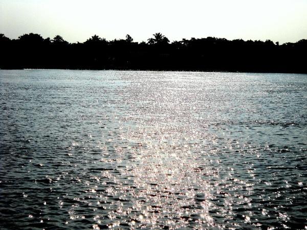 The shining Ganga. by BHUBAN