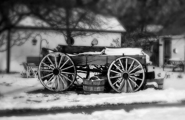 Red Cart by enricopardo