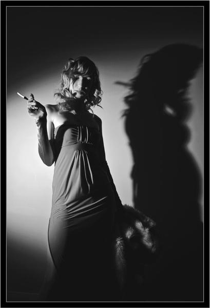 Femme Fatale #1 (Film Noir) by RWPhotoGraphix