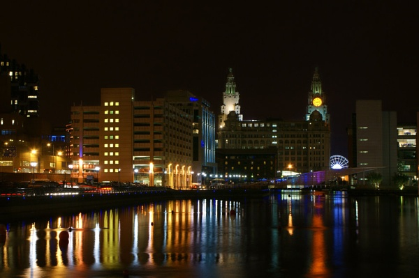 Liverpools Night Lights by DJLeroy