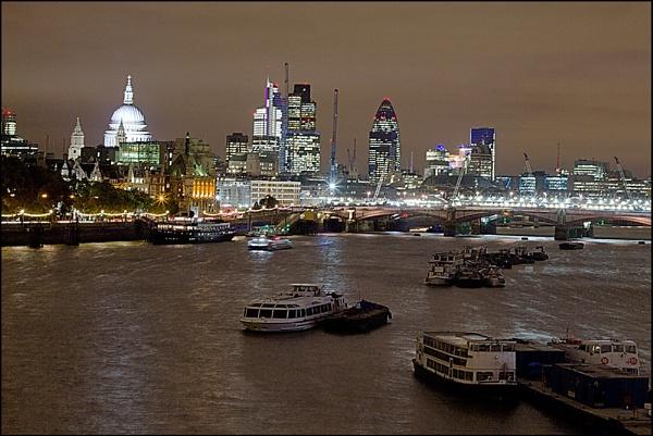 London night parking by JackAllTog