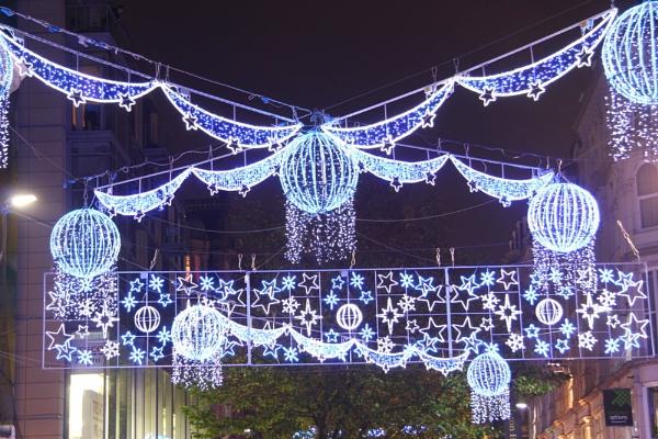 Birmingham christmas lights by Steve2rhino