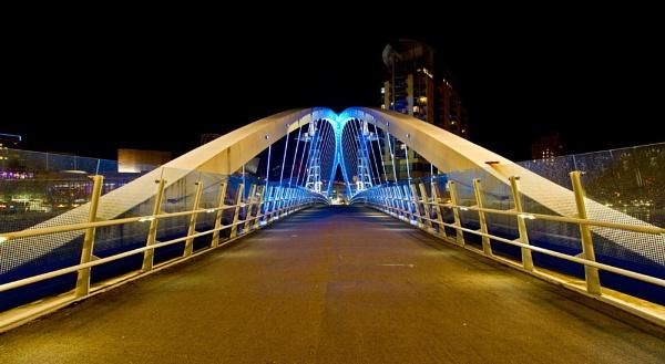 Salford Elevator Bridge by toewrag