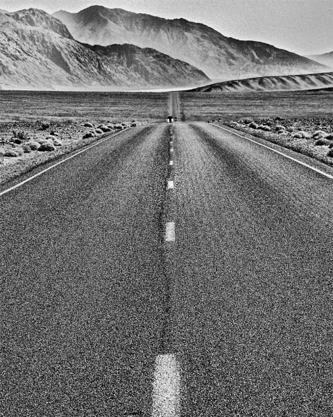 Road to Badwater (Death Valley) by Take-a-View