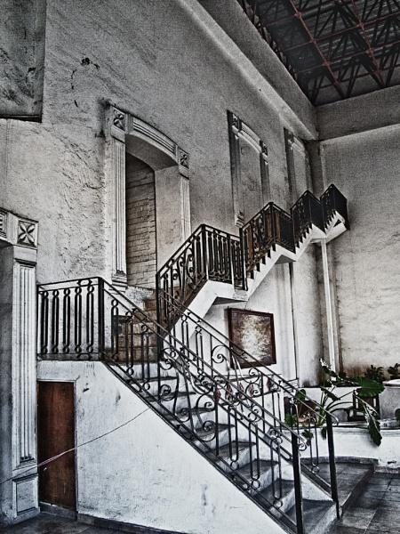 Abandoned Resort Lobby 2 by JohnnyG