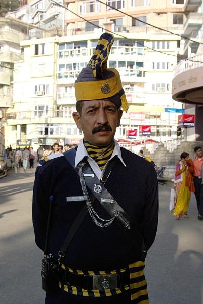 Policeman, Shimla, India by TonyDy