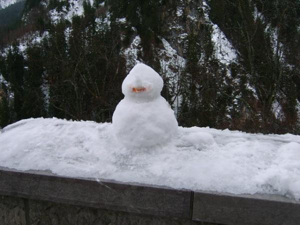 Snowman by cristalfiona