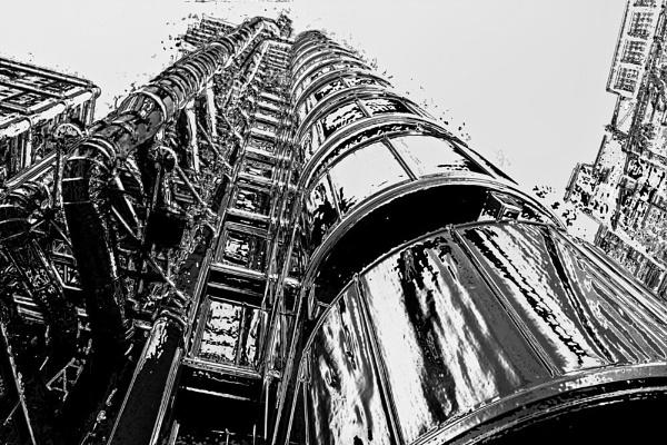 Lloyds Building London by hornchurch
