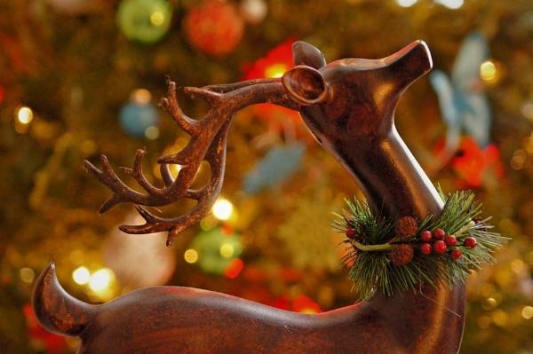 Wooden Reindeer by SkylarVance