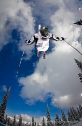 Ski Backflip Overhead - Hein Stroomberg