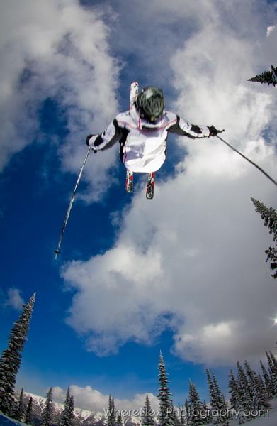 Ski Backflip Overhead - Hein Stroomberg by rrf105