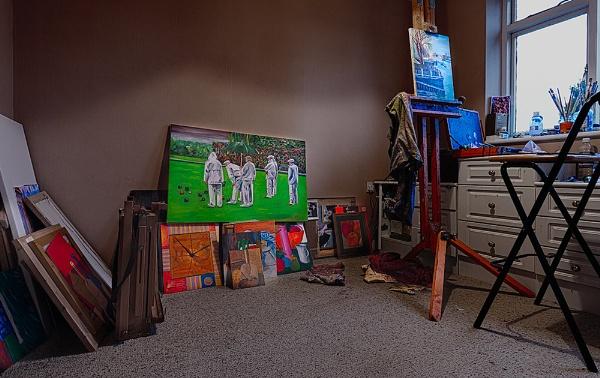 The Artist\'s Studio by John_Frid