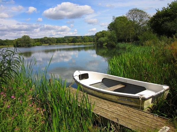 Salmonsbury Lake by Glostopcat