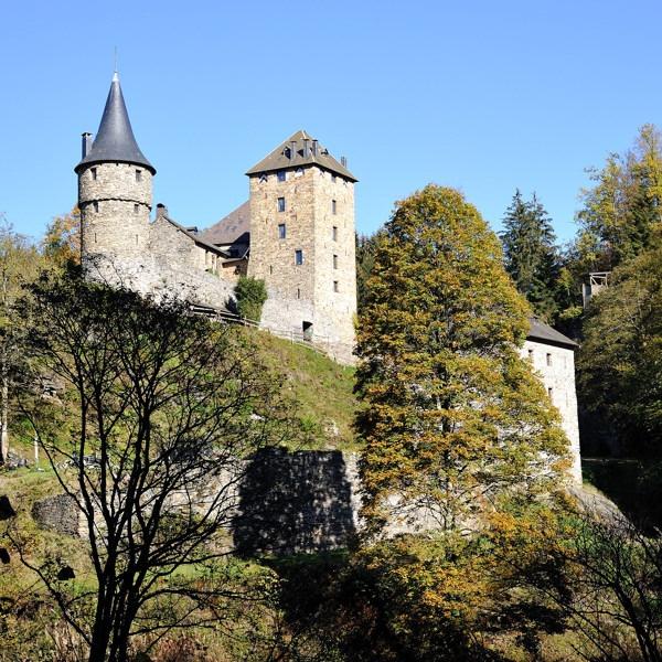 Castle of Reinhardstein (Xhoffraix - near Malmedy) by Johan Vandenberghe