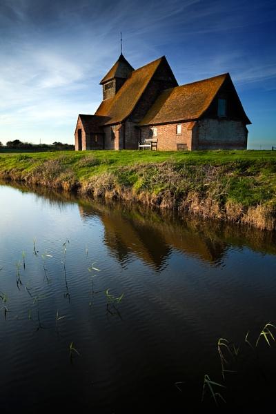 The Church on the Marsh III by derekhansen