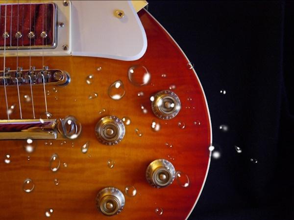 A Splashing Guitar...? by tull