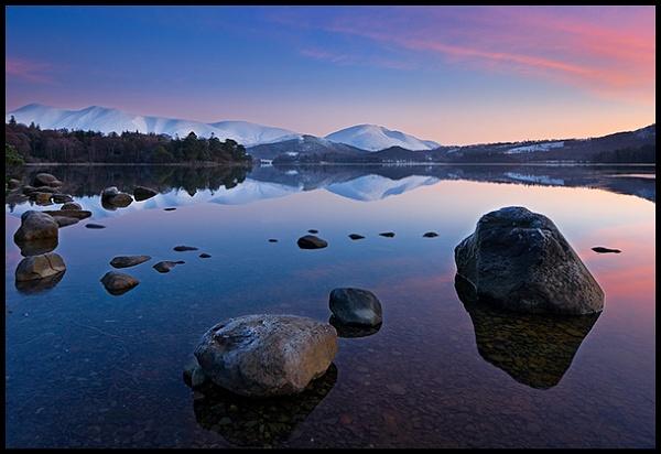Derwentwater Dawn by spiros
