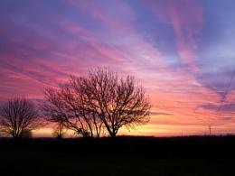 Sunrise over Milton Keynes