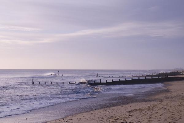 Southwold Beach by JanetKenyon