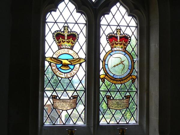 Stained Glass window- Edith Weston, Rutland by cageymac