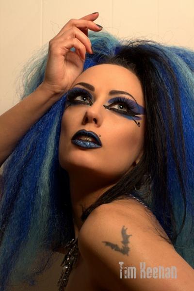 AndromedaX, blue hair No.2 by Mrserenesunrise