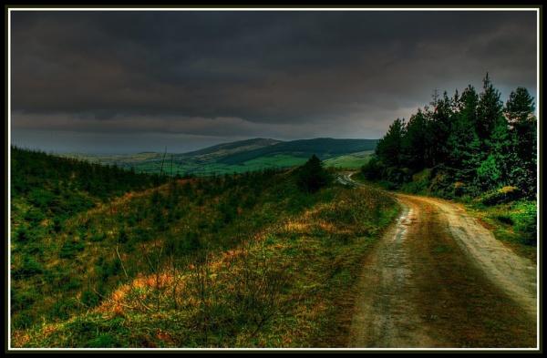 Mountain road by Heffo1