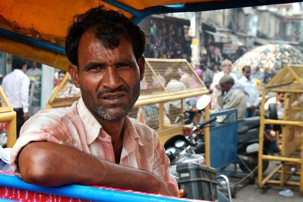 The rickshaw wallah by travelshooters