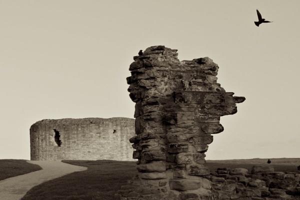 Flint Castle by r6jvr