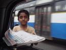 News paper seller