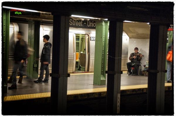 Subway Fiddlin\' by gajewski