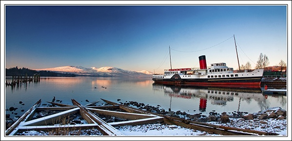 Maid of the Loch in Panorama by flatfoot471