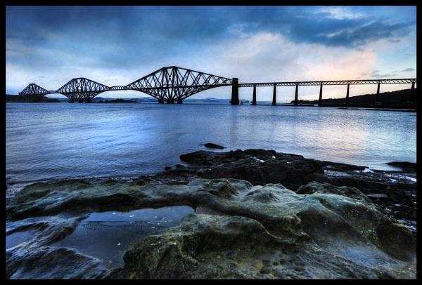 Forth Rail Bridge by AndrewAlbert