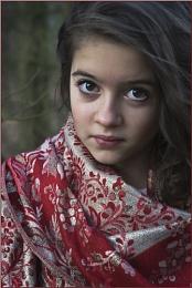 Red Sari