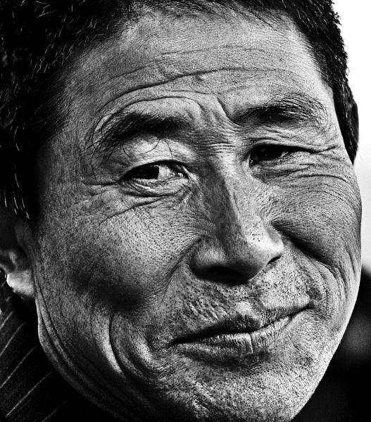 Man from hanzhou City - China by Berniea