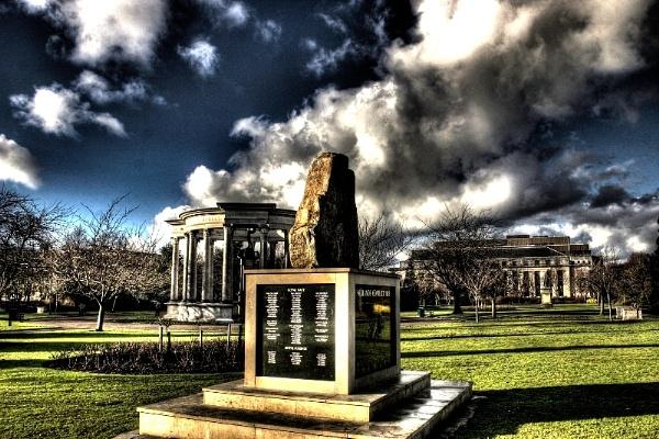 Falklands War Memorial by Bonvilston
