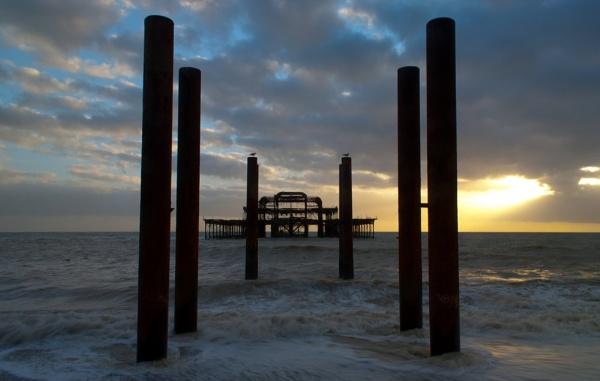 Brighton West Pier by RichardMc