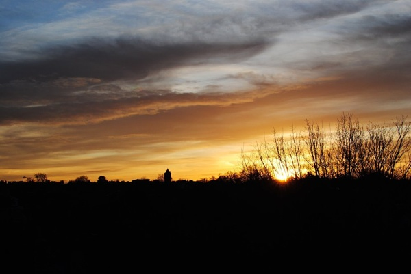 sunrise 11/01/2012 Catford ,London by Landrew