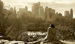 Overlooking New York