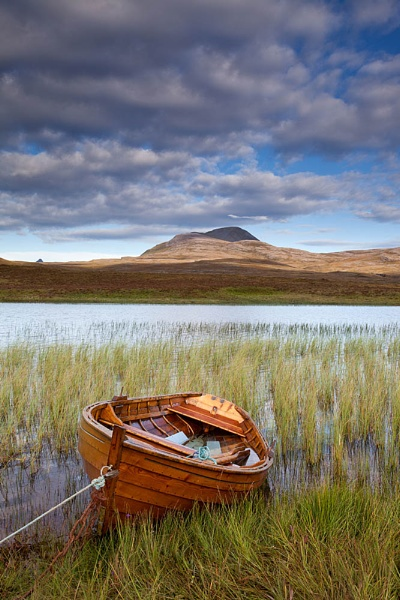 Boat on Loch Awe by CliffGreen
