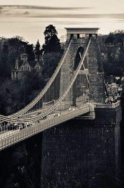 Clifton Suspension Bridge by tony_hoops