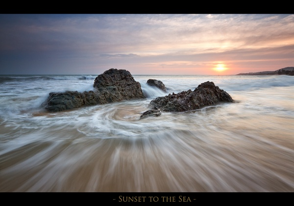Sunset to the Sea by dmhuynh72