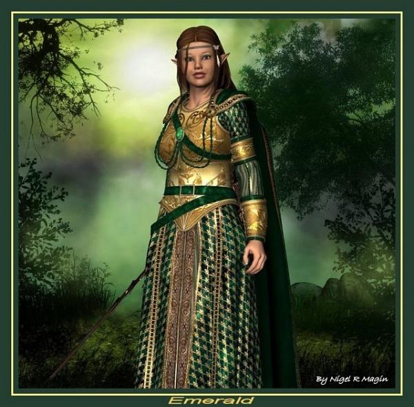 Emerald by leginR