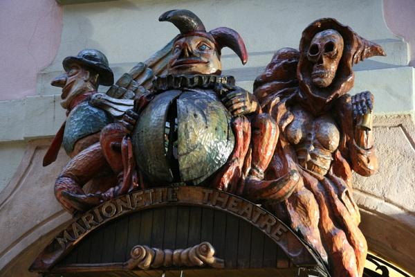 Prague Marionette Theatre by Aerostat