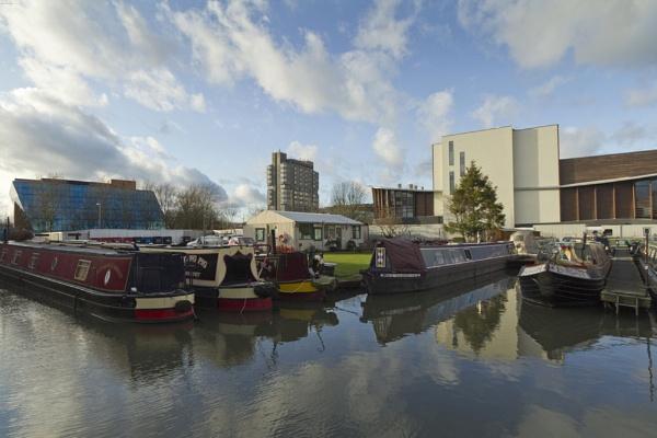 Aylesbury, Bucks, UK - Three iconic buildings by chrisJA