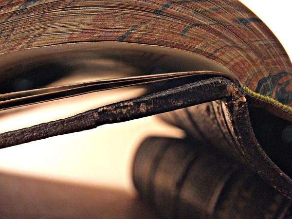 Leather Bound Books by ArtofOrdinary