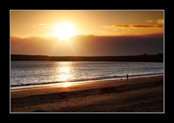 Barry Island beach by Bonvilston