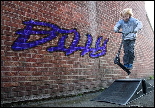 Getting Air! by johnhiggins