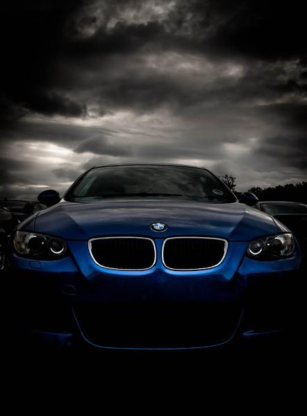 Blue BMW 3-Series by davidburleson
